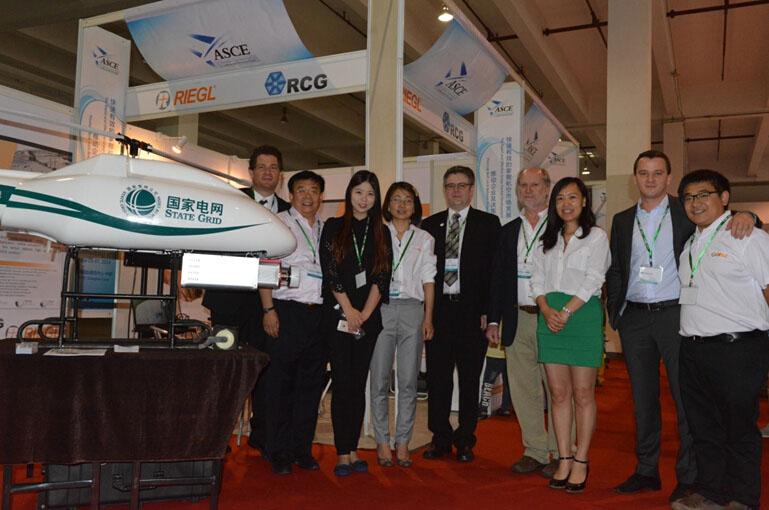 我公司最新产品GL-70亮相上海无人机展