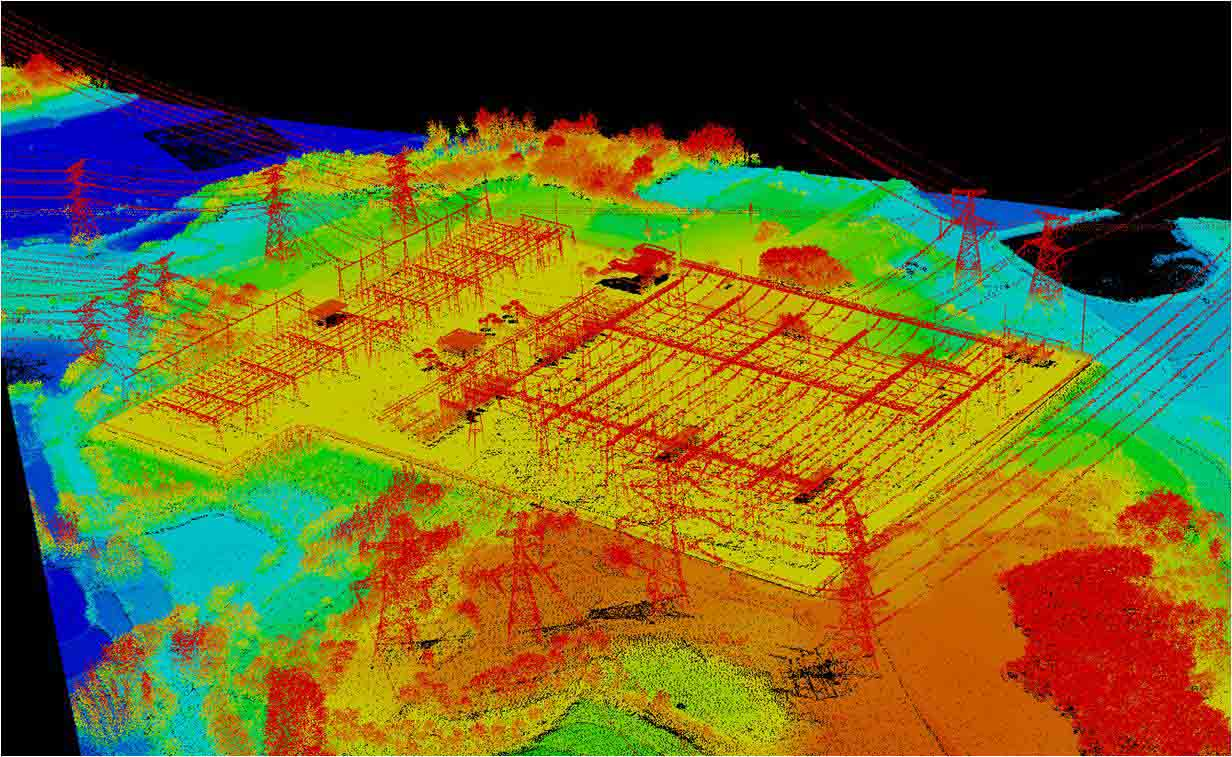 吉鸥信息顺利实施国内首个无人机LiDAR真实项目