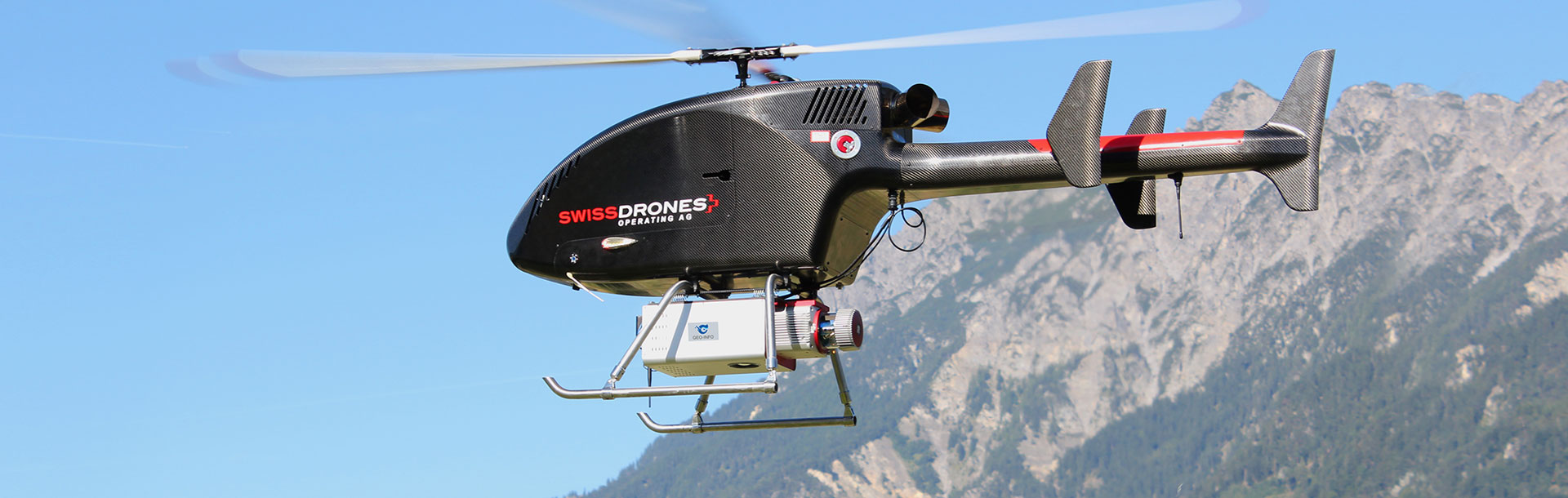 GL-70搭载于Dragon50无人直升机