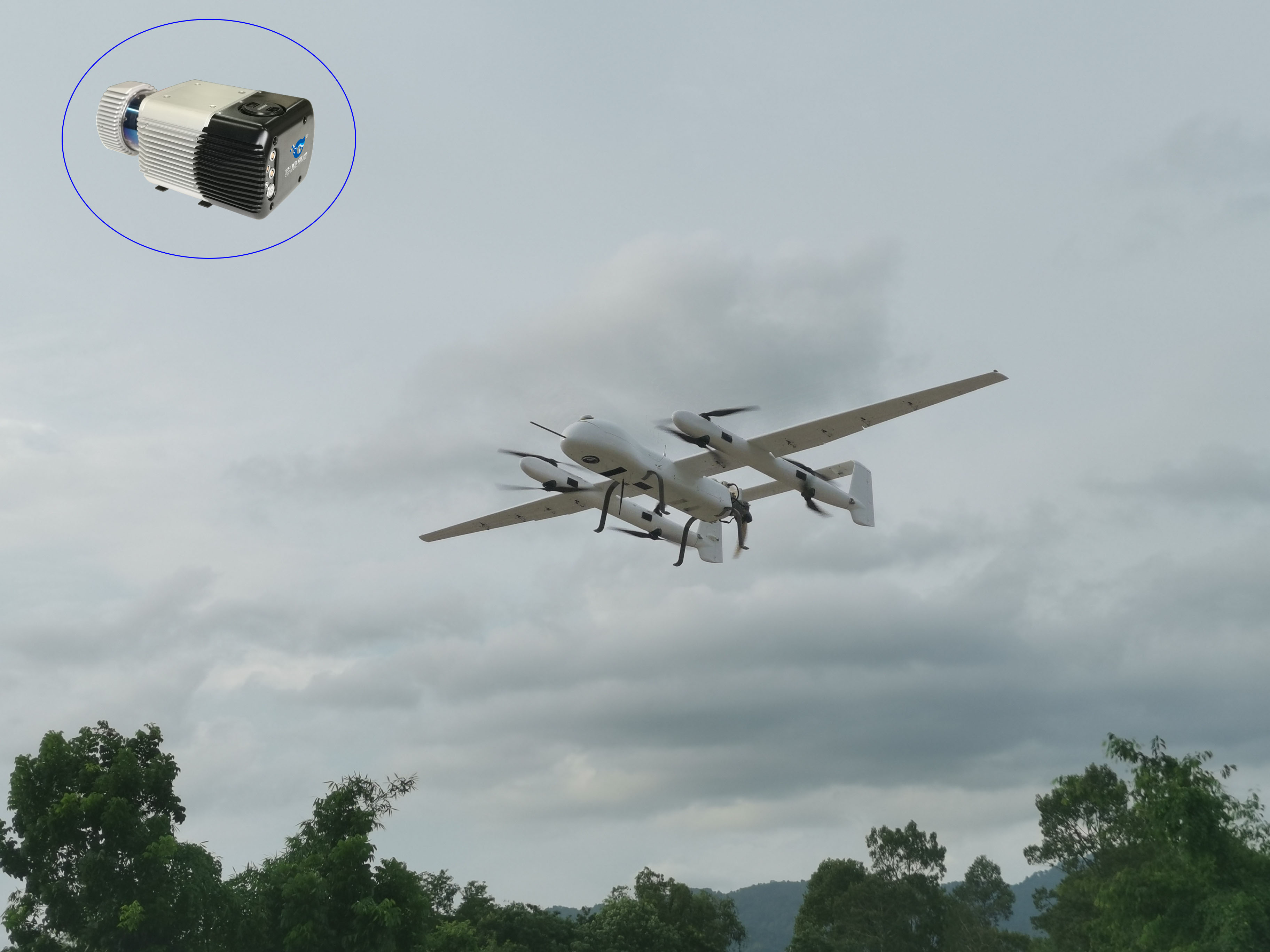 吉鸥垂起固定翼无人机激光雷达在泰国创造历史