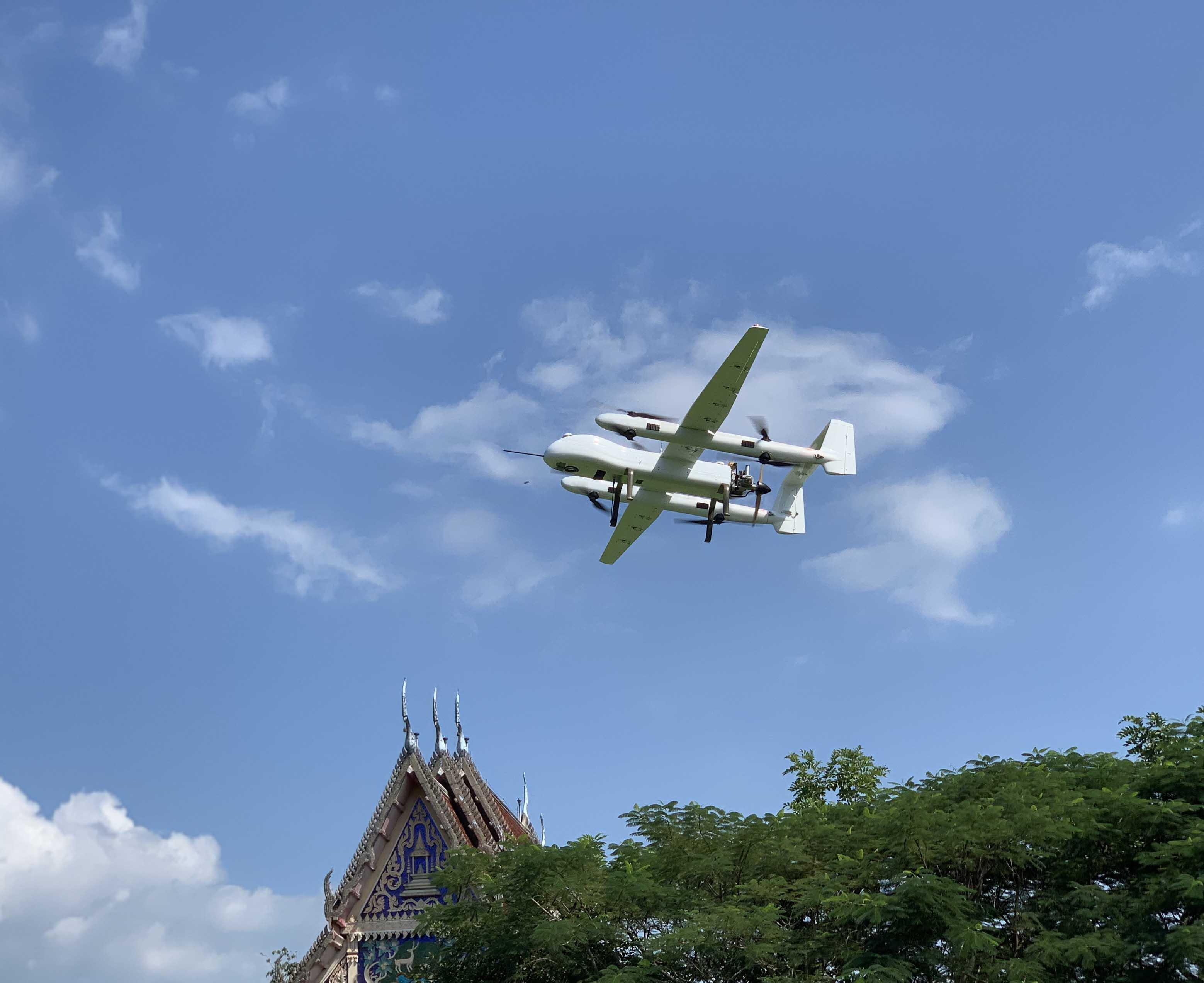 吉鸥长航时无人机激光雷达海外测绘应用再创佳绩